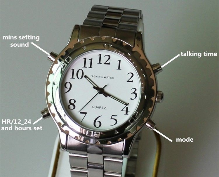 visually and blind watches talking for impaired the wrist youtube watch