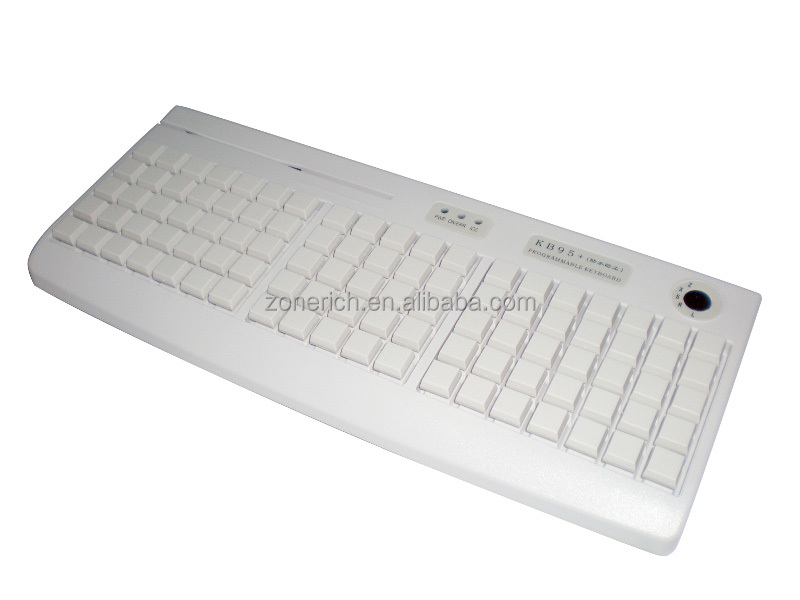 Professional POS keyboard with optional card swiping function ZQ-KB95
