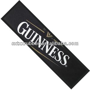 guinness bar runners,guinness bar mats
