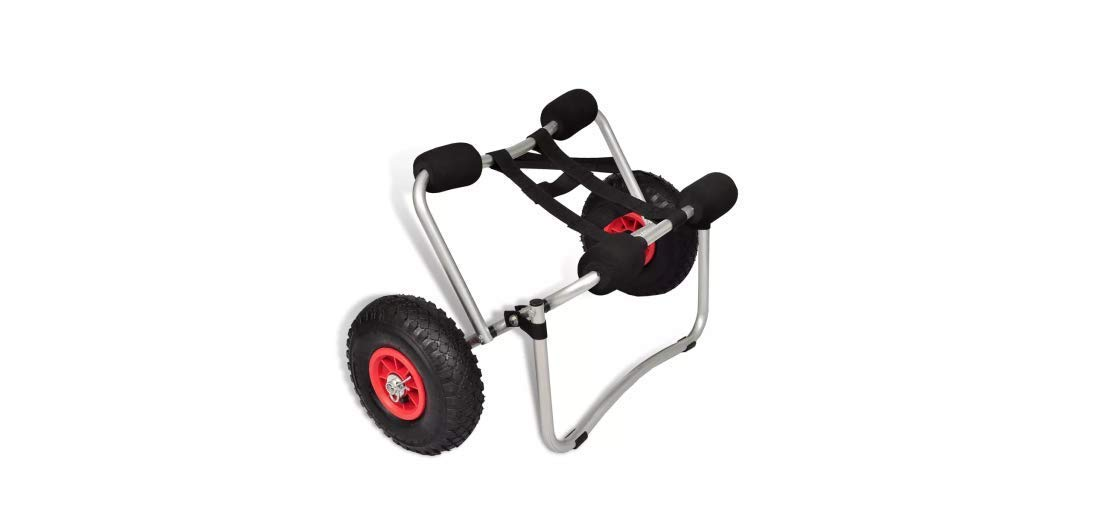 Comfyleads Cart Kayak Aluminum Canoe Dolly Carrier Trolley Boat