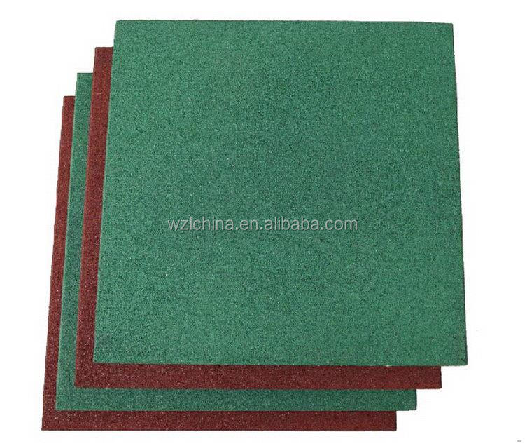 Enviromental hot selling silicone rubber sheet floor mat