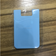 Silicone ID Card Holder 3M 300Lse Sticker Pouch For iPhone