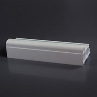 White General Window Accessory UPVC Profile China Beidi Brand UPVC Profile Producer Manufacture