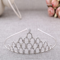 Pageant crown tiara accessory for birthday wedding party