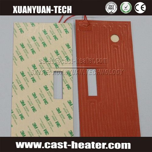 Silicone Flexible 12v heating pad