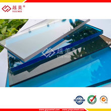with UV protective,impact resistance waterproof 2mm-6mm solid pc flat sheet