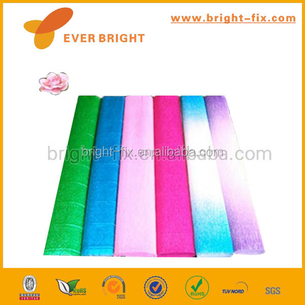 waterproof color flower wrapping crepe <strong>paper</strong>