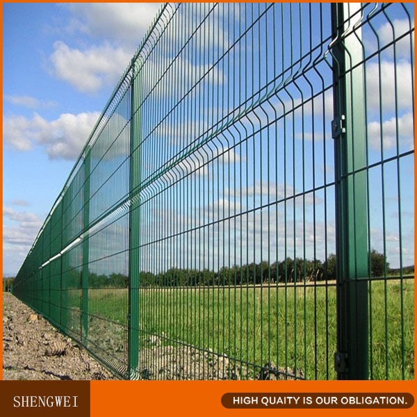 Green Clearvu Welded Wire Mesh Fence Panel - Buy Clearvu Fence,Green ...