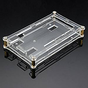 BephaMart Transparent Acrylic Shell Box For Arduino MEGA2560 R3 Module Board Shipped and Sold by BephaMart