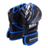 Kick Half Fingers Leather Mens Boxing MMA Gloves for Training