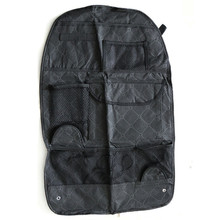 Vehicle Car Accessories Car Auto Care Seat Protector Cover Storage Bag Pouch For Children Kick Mat Mud Black Color Car-styling