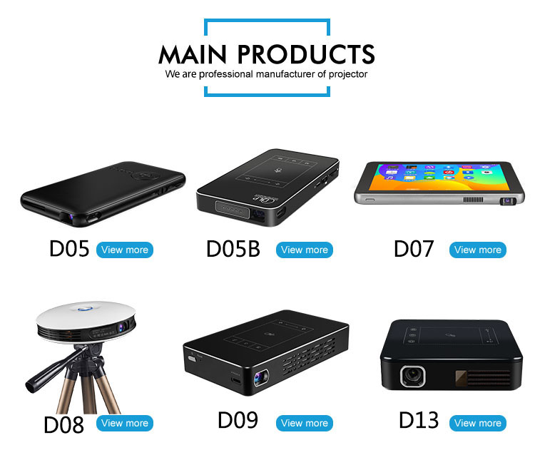 Android projectors for school home theater projectors with high quality