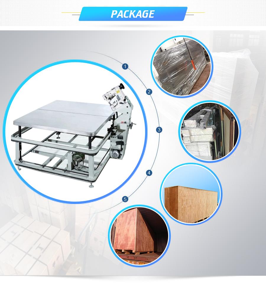 Band verpackung maschine matratze band kante nähen maschine fabrik direkt verkauf