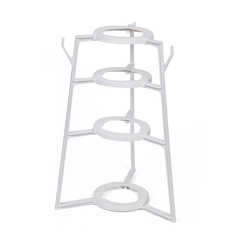 Pot rack flower pot rack