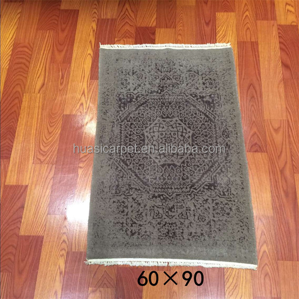 2x3ft Chinese Carved Wool Rugs Online