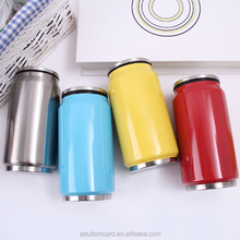 Ring-pull can bottle Sport outdoor traveling stainless steel vacuum flask,large capacity500ml,custom logo