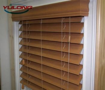 50mm Slats Wooden Venetian Blinds Indoor Home Basswood