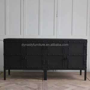 industrial metal style furniture iron sideboards