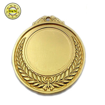 art style of blank beautiful gold Medals