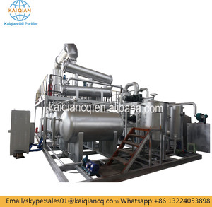 Used Gasoline Engine Oil Treatment Making Machine