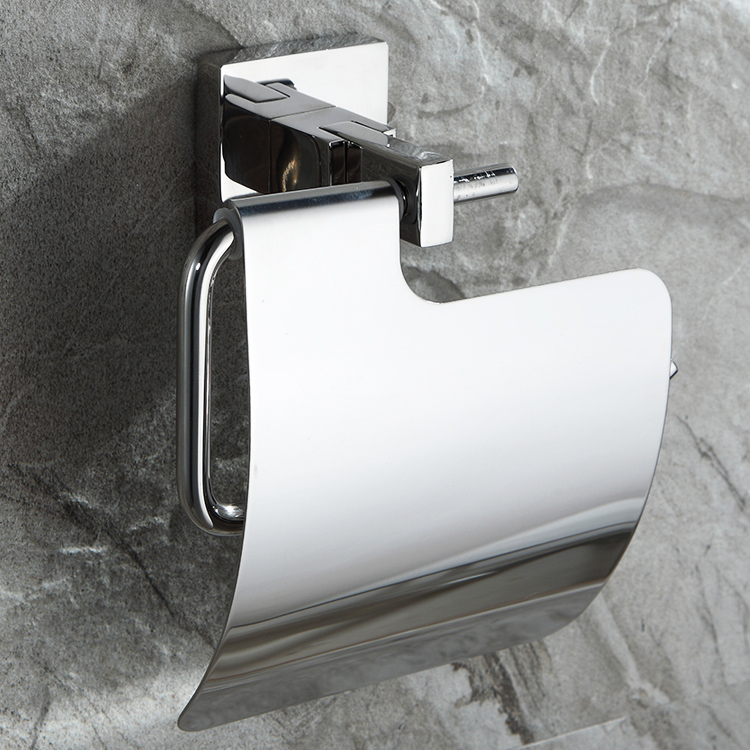 Stainless steel wall mounted toilet tissue paper towel holder