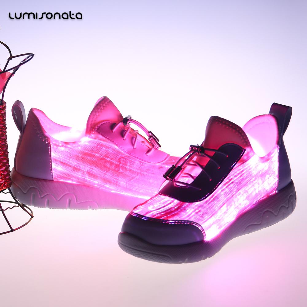 design colors shoes Fashion light emitting 7 LED new zOnqg