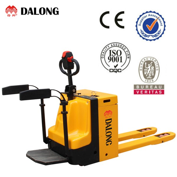 2500KG Capacity, Electric Pallet Lift Truck