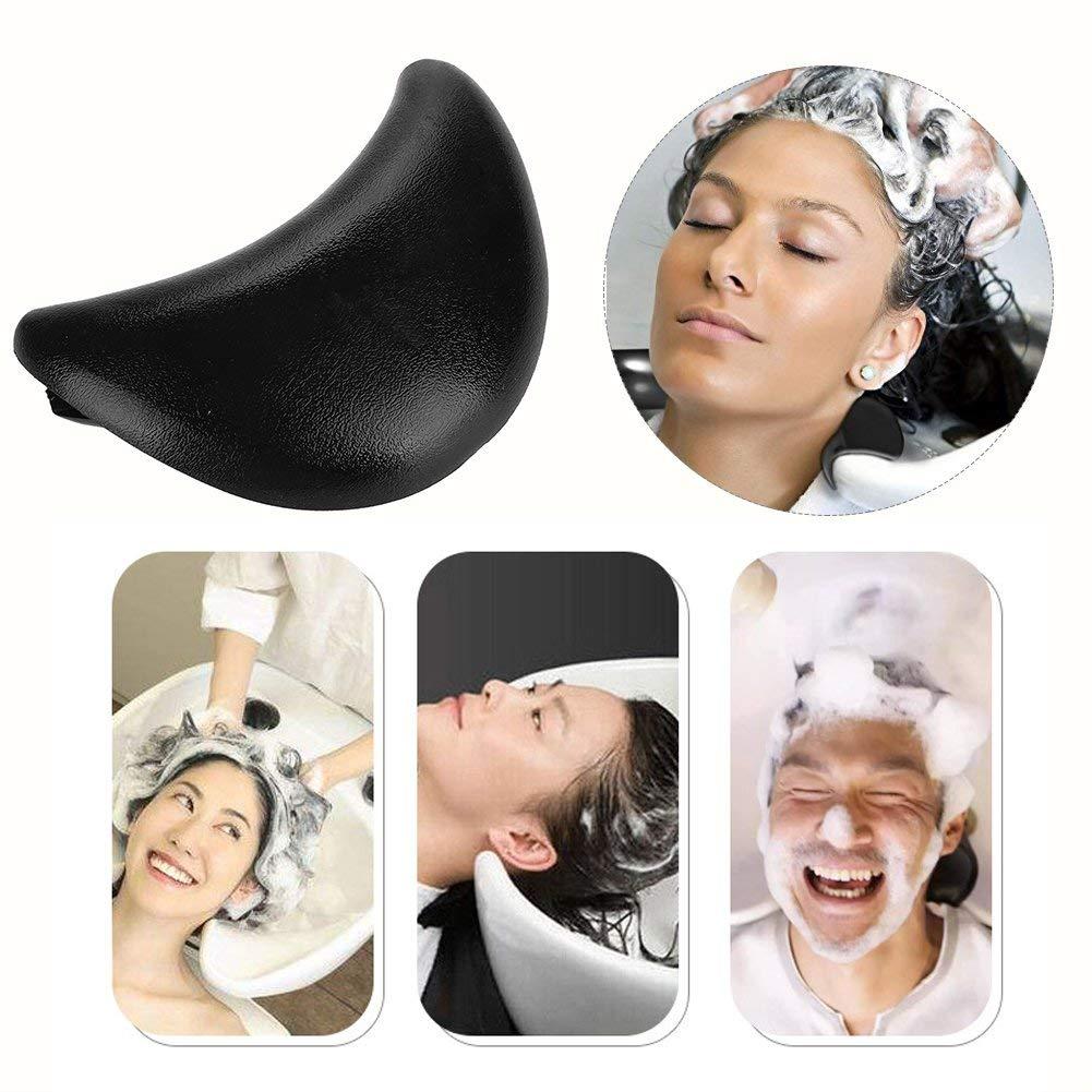 Silicone Neck Pillow, Salon Silicone Hairdressing Hair Washing Neck Pillow Shampoo Bowl Cushion