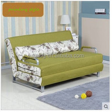 European modern style printing fabric sofa bed for home furniture