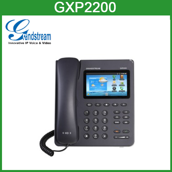 Grandstream GXP2200 Youtube and Facebook ip phone