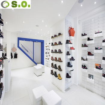 Attrayant Amazing Design Shoes Store Display Counter Furniture For Modern Retail Shoes  Shop Interior Design