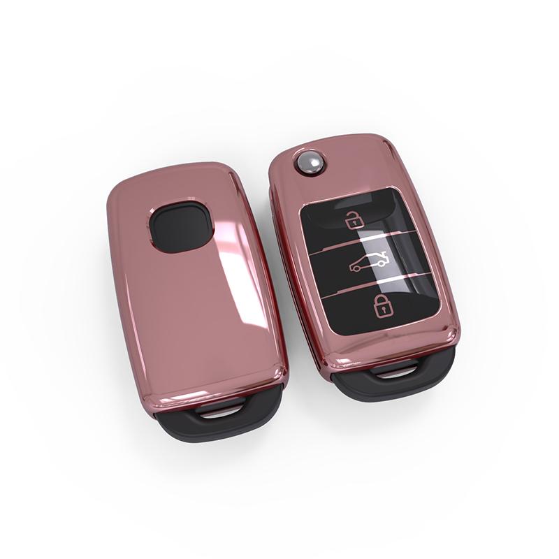 Складной ТПУ удаленного ключи чехол держатель для Chang An CS75 CS55 CX70 RAETONCC ALSVIN EADO (X70A) CS15 прямые продажи с фабрики