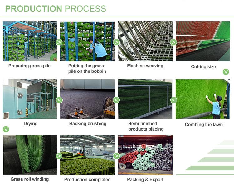 Asher 50 Mm Olahraga Sintetis Rumput Rumput Sintetis untuk Lapangan Foto untuk Lapangan Sepak Bola Rumput