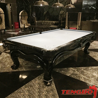 9ft pool table 8ft billiard table 3 cushion billiard table for sale