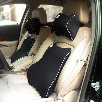 Hot Sale Car Memory Foam Lumbar Cushion Buy Memory Foam Lumbar Cushion Car Cushion Product On Alibaba Com