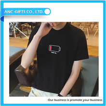 good quality plain 100% organic sublimation printing hot promotion tencel t shirt