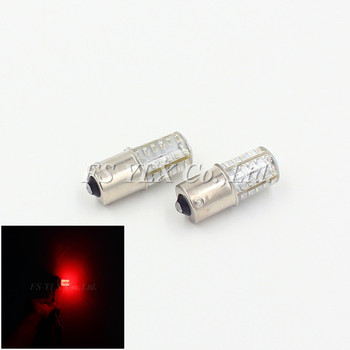 1156 ba15s P21W LED Strobe Flash Brake Bulbs BA15S Car Brake Lights 1156 Rear Light Red flash led bulb