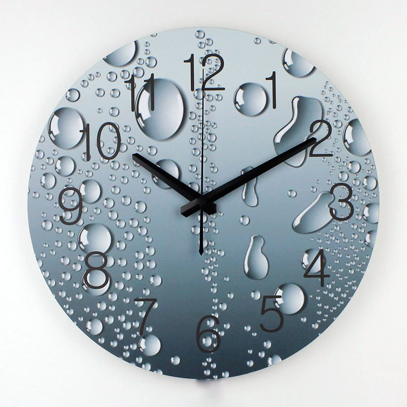 Wholesale Designer Wall Clock Modern Home Decoration 3d