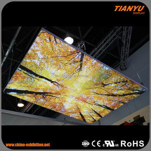 Aluminum Tension Fabric SEG Frame Light Box Signs China Textile Light Box
