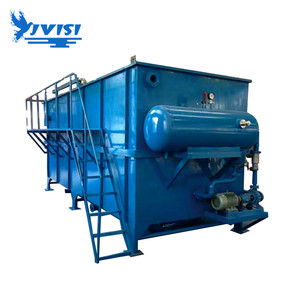 Froth Flotation Sewage Treatment Units Landscape Water Purification System Sedimentation Dissolved air float equipment