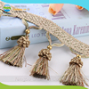 Hot Sales Tassel Strawberry Hanging Ball Curtain Tassel Fringe for Description