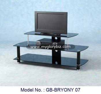 Tv In Vetro Tavolo Living Room Furniture,Alluminio Vetro Porta Tv ...
