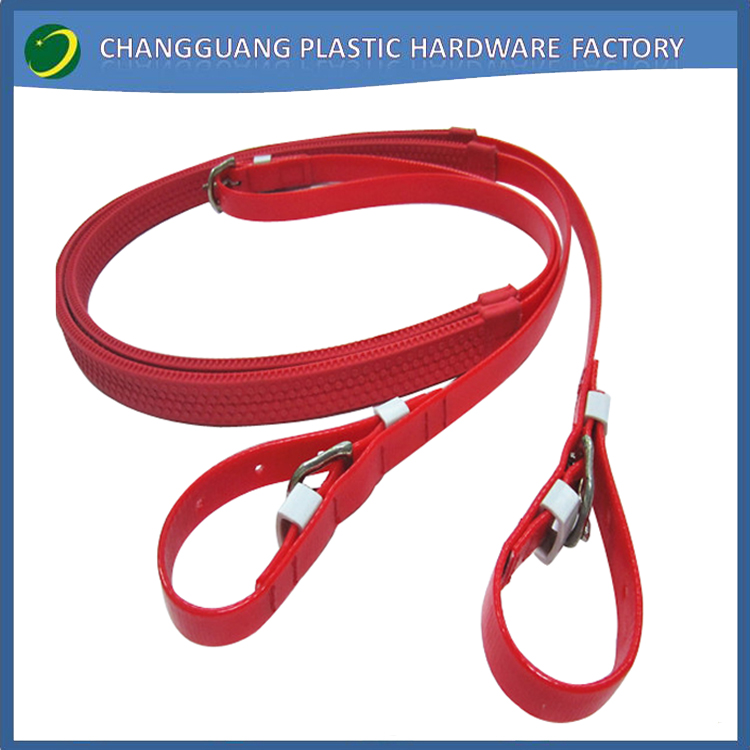 endurance pvc horse racing reins with brass fittings