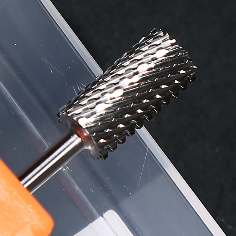 High Quality 3 / 32 Foot Cuticle Clean Carbide Dental Nail Drill Bits for Manicure Nail Drill Accessories