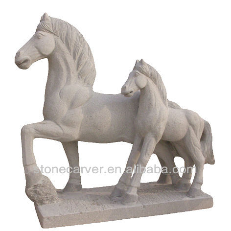 Resin Crafts Of Decorative Horse Head Statue Sculpture   Buy Polished Stone  Horse,Stone Horse Garden Statues,Salt Stone Horse Product On Alibaba.com