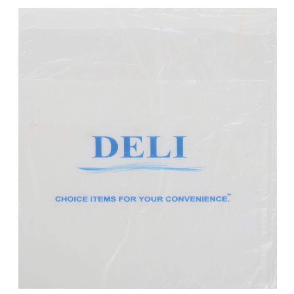 Deli Bags Saddle Pac Giant Imprinted HDPEk- 9 1/4 L x 10 1/2 H 2000 Per Case
