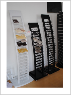 Hot Sale customized Marble/Granite/Ceramic tile/Quartz Stone Display Stand Rack With Logo Printed/Wheel/Catalog Holder