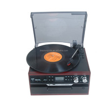 Klasik Turntable AM <span class=keywords><strong>FM</strong></span> <span class=keywords><strong>Radyo</strong></span> ile CD Kaset/<span class=keywords><strong>USB</strong></span> <span class=keywords><strong>Kaydedici</strong></span> ve MP3 Oyuncu