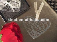 Mark It With Memories Ornate Heart Design Bookmark