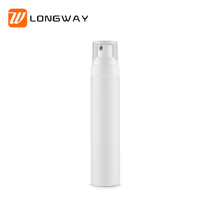 white frosted empty cosmetic plastic fine mist spray bottle 30ML 50ML with atomizer pump